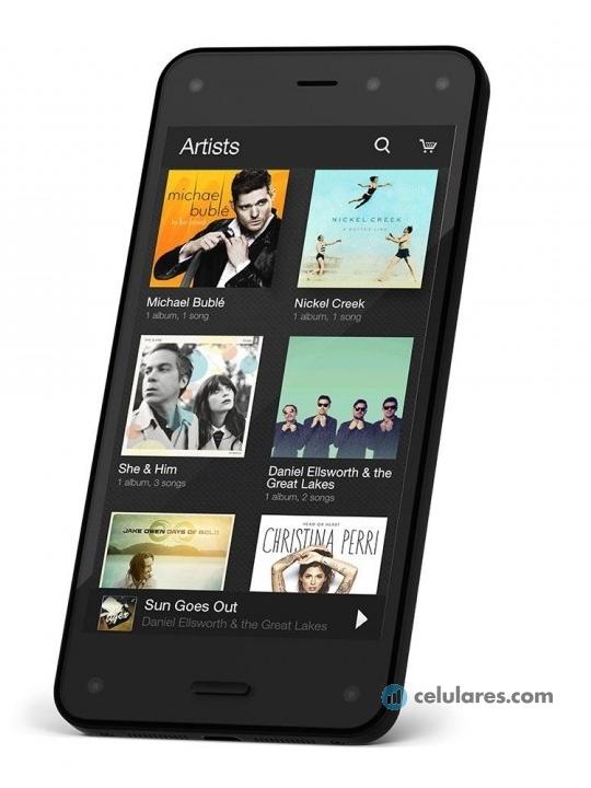 Comparar Amazon Fire Phone y Huawei Ascend Y330 - Celulares